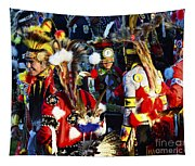 Pow Wow Beauty Of The Past 5 Tapestry