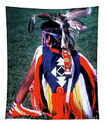 Pow-wow Colors Tapestry
