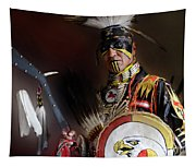 Pow Wow Portrait Of A Proud Man 2 Tapestry