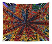Power Flower Tapestry