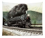 Power On The Curve Tapestry