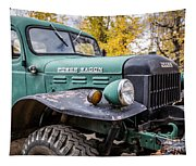 Power Wagon Tapestry
