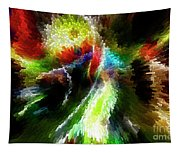 Powwow Dancer Abstract Tapestry