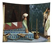 Prayer At The Sultan's Room  The Grief Of Akubar  Tapestry