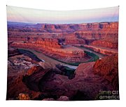Dawn At Dead Horse Point Tapestry