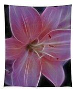 Precious Pink Lily Tapestry