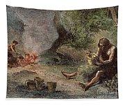 Prehistoric Man: Pottery Tapestry