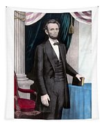 President Abraham Lincoln In Color Tapestry