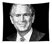 President George W. Bush Graphic Tapestry