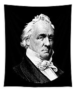 President James Buchanan Graphic Tapestry