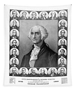 Presidents Of The United States 1789-1889 Tapestry