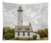 Presque Isle Lighthouse  - Lake Huron, Lower Peninsula, Mi Tapestry