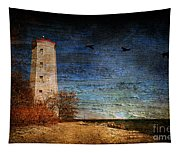 Presquile Lighthouse Tapestry