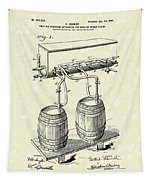 Pressure System 1900 Patent Art  Tapestry by Prior Art Design