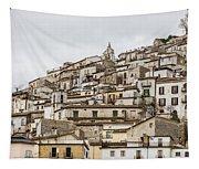 Pretoro - An Ancient Village  Tapestry