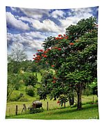 Pretty Countryside Tapestry