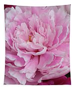 Pretty In Pink Peony Tapestry