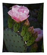 Pretty In Pink Prickly Pear  Tapestry