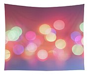 Pretty Pastels Abstract Tapestry