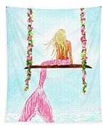 Pretty Pink Swing Tapestry