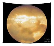 Pretty Storm Clouds With Sun Shine Tapestry