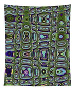 Prickley Pear Tall And Skinny Tapestry