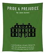 Pride And Prejudice Greatest Books Ever Series 016 Tapestry