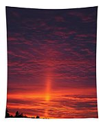 Pride Of The Prairie Sunset Tapestry