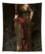 Priestess Of Delphi Tapestry