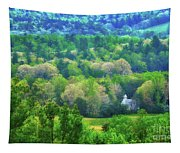 Primitive Baptist Church Of Cades Cove Tapestry