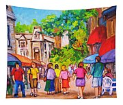 Prince Arthur Street Montreal Tapestry