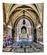 Princeton University Arches And Stairway To Education Tapestry