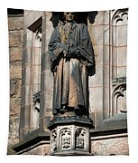Princeton University J Witherspoon Statue  Tapestry