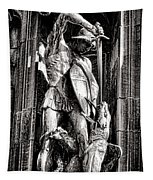 Princeton University Saint George And Dragon Sculpture Tapestry