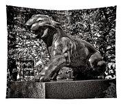 Princeton University Tiger Sculture Tapestry