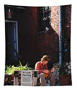 Private Parking Tapestry