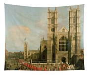 Procession Of The Knights Of The Bath Tapestry