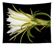 Profile Night Blooming Cereus Tapestry