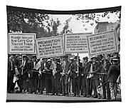 Prohibition Protestors Tapestry