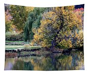 Prosser - Autumn Reflection With Geese Tapestry