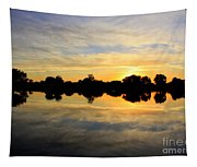 Prosser Sunset - Blue And Gold Tapestry