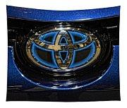 Prototype Toyota Mirai Logo Tapestry