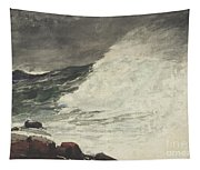 Prouts Neck Breaking Wave Tapestry