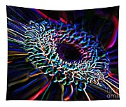 Psychedelic Neon Tapestry