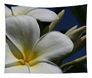 Pua Lena Pua Lei Aloha Tropical Plumeria Maui Hawaii Tapestry