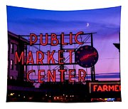 Public Market Center - Seattle Tapestry
