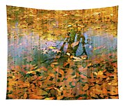 Puddle Play Tapestry