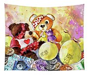 Pudsey And Truffle Mcfurry For Children In Need Tapestry