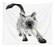 Pudsquiz Belina On The Prowl  Tapestry