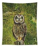 Pueo  Tapestry by Darice Machel McGuire